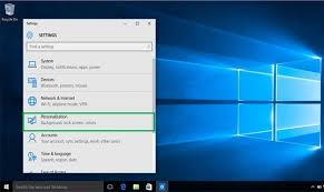 your desktop background in windows 10