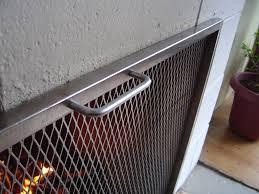 fireplace screens modern fireplace screens glass firescreens