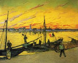 vincent van gogh coal barges 1888 oil on canvas 71 x