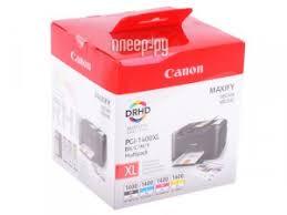 <b>Картридж</b> Canon PGI-1400BK/C/M/Y XL EMB MULTI для MAXIFY ...