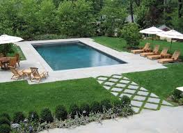 in ground pools rectangle. Similiar Rectangle Inground Pool Landscaping Ideas Keywords With Rectangular Pools In Ground O