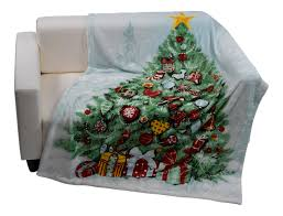christmas tree blanket. Wonderful Tree Care Instructions Machine Washable At 30c Can Be Tumble Dried And Ironed  On A Cool Heat Setting Wash Before First Use In Christmas Tree Blanket T