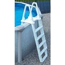 Above ground pool ladder Platform Poolzoom Evolution Aframe Aboveground Pool Ladder