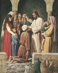 Image result for pictures of Jesus Healing Everyone