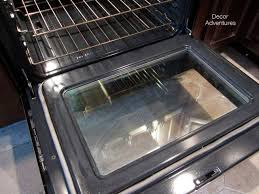 see how to clean your oven door naturally with no scrubbing