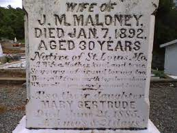 Lizzie Maloney (1862-1892) - Find A Grave Memorial