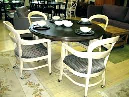 marvellous inspiration rolling dining room chairs with casters caster chair whole amazon