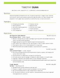 Marketing Resume Template Fresh Social Media Marketing Resume Sample