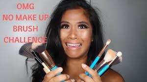 no make up brush challenge ling kt