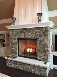Gas fireplace inserts with stone fireplace inserts avalon dv insert  cambridge face for how to frame