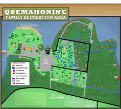 Quemahoning Reservoir Depth Chart Quemahoning Family Recreation Area Campground Park And