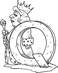 Small Picture Coloring Q Coloring Page