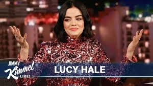 Jimmy Kimmel Surprises Lucy Hale with Old Singing Clip - YouTube
