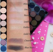 on the second row the first shades are more neutral again but then there are some gorgeous golden shades love the golden light and the gold digger similar