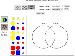 Sorting 2d Shapes Venn Diagram Ks1 Peel Park Maths Interactive Maths Resources 2d Shape