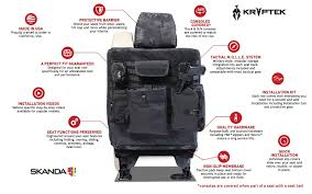 kryptek tactical custom seat covers