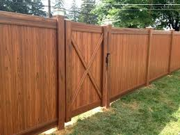 brown vinyl fence panels. Brown Vinyl Fencing Panels Fence