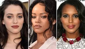 90s makeup eback brown lipstick