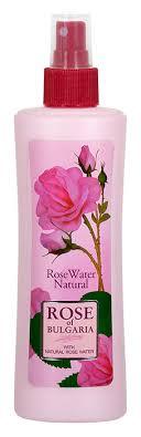 <b>Rose</b> of Bulgaria Розовая <b>вода</b>, <b>натуральная</b>, с пульверизатором ...