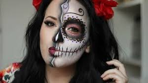 sugar skull day of the dead makeup tutorial 2016 nyx croatia face