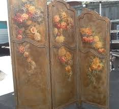 antique louis xv french room divider