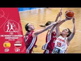 Spain v Latvia - FIBA U16 <b>Women's European</b> Championship <b>2019</b>