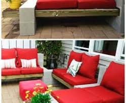 diy cinder block outdoor furniture. 10 Diy Cinder Block Garden Ideas And Projects Concrete. Furniture Outdoor