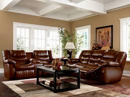 Living Room With Leather Furniture Decorating Living Room With Leather Couch Nomadiceuphoriacom