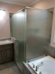 frosted frameless glass shower door by century glass frosted frameless glass shower door by century glass