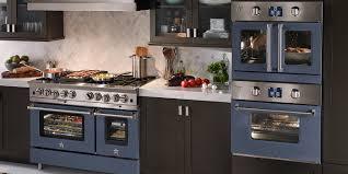 Colourful Kitchen Appliances Professional Grade Ranges Stoves Hoods Bluestar