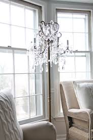 curtain fancy floor standing chandelier lamp 29 y home lighting insight image of crystal wooden