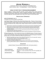 Program Manager Resume Inspiration 256 Program Manager Resume Samples Program Manager Resume Example With
