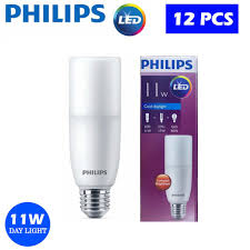 Philips Led Stick 11w E27 Daylight 12 Pcs