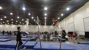 Lola Coffey 1st Place Bars San Diego Classic 2020 Wildfire Gymnast Level 8  - YouTube
