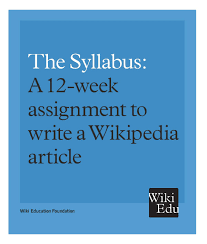 How To Write A Syllabus Education Syllabi Outreach Wiki