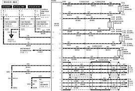 bullitt archive mustang radio wiring diagrams 1999 ford mustang radio wiring diagram at Mustang Audio Wiring Harness
