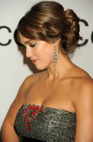 Jessica Alba Updo Hairstyles 80 Best Images About Peinados On Pinterest Bridal Updo Updo And