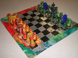 home made Chess Pieces | Homemade Chess Set by db31415 | Chess ...