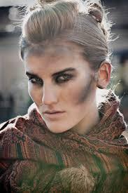 make up dirt face for earth elemental