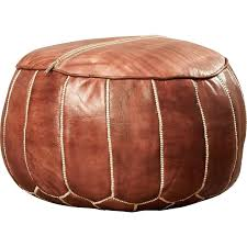 leather pouf ottoman leather pouf large leather pouf ottoman egyptian moroccan leather ottoman pouf