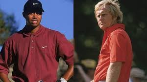 Tiger Vs Jack Chart Comparing Tiger Woods And Jack Nicklaus Head To Head In