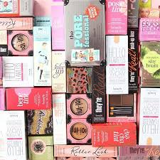 this benefit cosmetics haul is what our dreams are made of