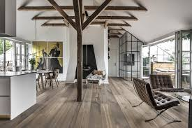 Wood floors with different shades of gray Khrs US