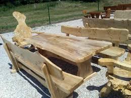 Esszimmertische Und Bänke Aus Massivholz Mit Hand Gefertigt
