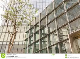 Glass exterior modern office Glass Wall Modern Office Glass Building Dreamstimecom Modern Office Glass Building Stock Photo Image Of Metal Modern