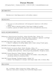 Fashion Sales Representative Sample Resume Resume for a Manufacturer's Sales Rep Susan Ireland Resumes 2