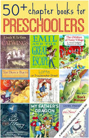chapter books for preers and 3 year olds
