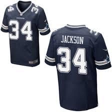 Dallas Cowboys No Elite Blue Jersey Jackson Navy Youth 34 Darius
