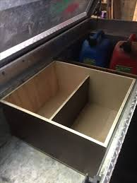 truck tool organizer. truck tool box organization. i made a wooden to put all of my small organizer