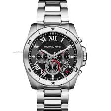 "michael kors watches michael kors uk watch shop comâ""¢ mens michael kors brecken chronograph watch mk8438"